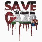 SAVE GAZA by diannasdesign