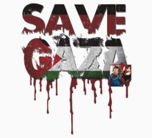 SAVE GAZA by diannasdesign