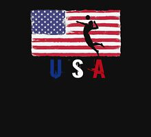 USA Volleyball 2016 competition beach volley funny t-shirt Unisex T-Shirt