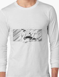 manga training illustration Long Sleeve T-Shirt