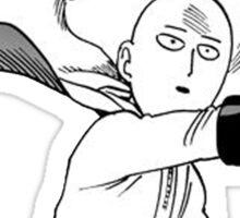 Manga one punch man Sticker