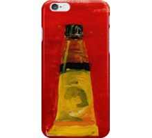 Oil Paint Tube 2 iPhone Case/Skin