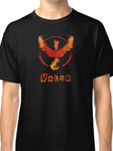 Pokemon GO: Team Valor (Fire Design) - Red Team Classic T-Shirt