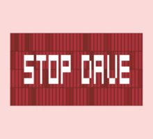 STOP DAVE - HAL 9000 - 2001 SPACE ODYSSEY One Piece - Long Sleeve