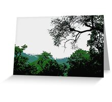 Nature evergreen Greeting Card
