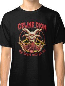 Celine Dion - Death Metal  Classic T-Shirt