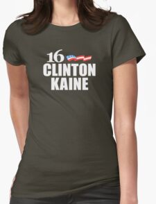 Clinton Kaine 2016 Womens Fitted T-Shirt