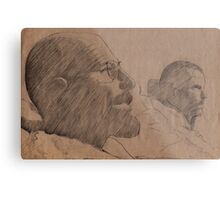 Breaking Bad - Walter and Jesse Metal Print