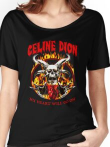 Celine Dion - my heart will go on Women's Relaxed Fit T-Shirt