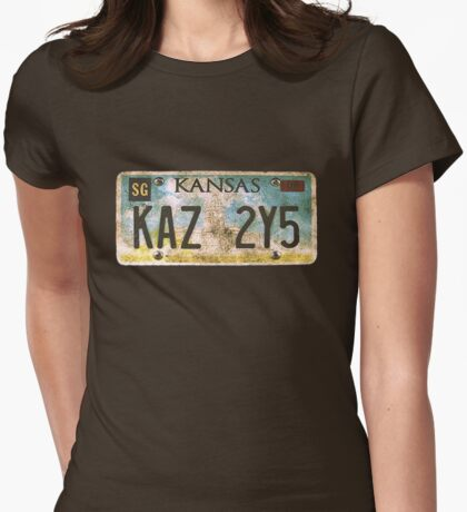 KAZ2Y5  Womens Fitted T-Shirt