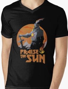 Dark Souls Mens V-Neck T-Shirt