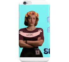 """""""Y'all Haters Corny"""" - Dana Scully iPhone Case/Skin"""