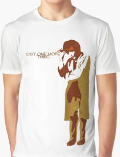 Columbo - Just One More Thing Graphic T-Shirt