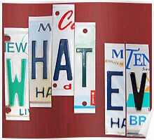 what · ev | what evs | what ever Poster
