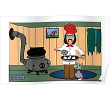 Cajun Chef Wild Willie Poster