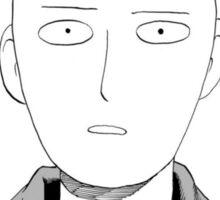Manga one punch man face Sticker