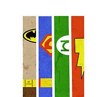 DC Comic Legends by jackfords