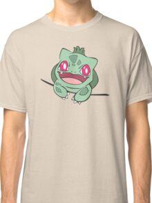 bulbasaur in pocket Classic T-Shirt