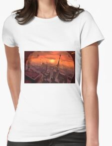 Futureworld Womens Fitted T-Shirt