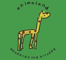 Geoffrey the Giraffe One Piece - Short Sleeve