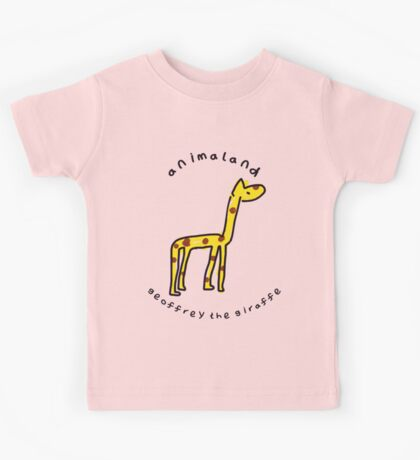 Geoffrey the Giraffe Kids Tee