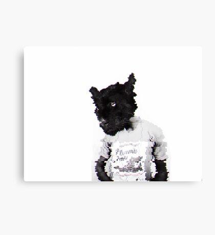 Panther Man Canvas Print