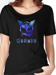 Pokemon GO: Team Mystic (Ice/Water Design) - Blue Team Women's Relaxed Fit T-Shirt