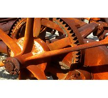 Gears of progress Photographic Print