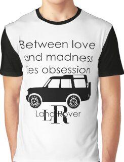Calvin Klein & Land Rover (Parody) Graphic T-Shirt