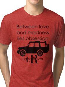Calvin Klein & Land Rover (Parody) Tri-blend T-Shirt