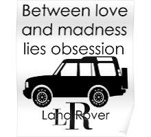 Calvin Klein & Land Rover (Parody) Poster