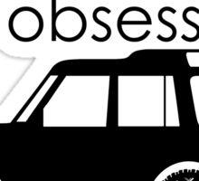 Calvin Klein & Land Rover (Parody) Sticker