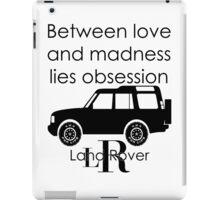 Calvin Klein & Land Rover (Parody) iPad Case/Skin