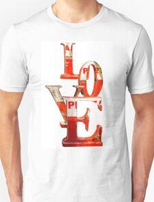 LOVE Happy Valentines day card Unisex T-Shirt