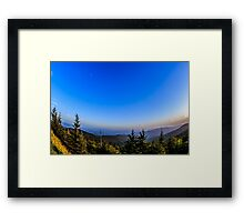 Sunset at Clingman's Dome I Framed Print