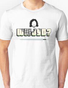 WWJSD? Unisex T-Shirt
