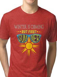 But first, SUMMER! Tri-blend T-Shirt