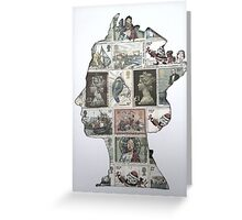 Queen Stamp Stencil  Greeting Card