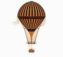 Elegant Steampunk Vintage Balloon Women's Tank Top