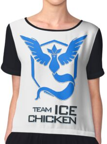 Team Ice Chicken Chiffon Top
