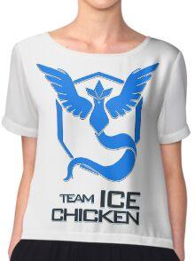 Team Ice Chicken Chiffon Top