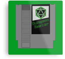 Dungeon Master NES Cartridge Mash Up Metal Print