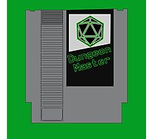 Dungeon Master NES Cartridge Mash Up Photographic Print