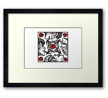 Red Hot Thunder Cats Framed Print