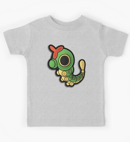 Paper Caterpie Kids Tee