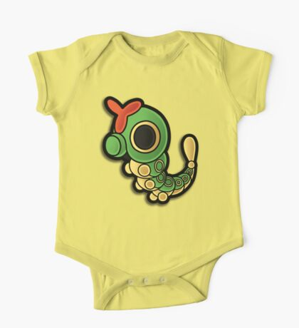 Paper Caterpie One Piece - Short Sleeve