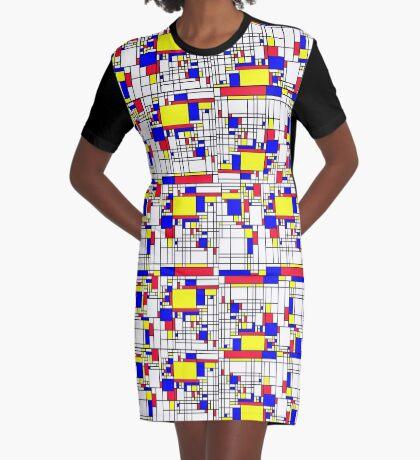 MONDRIAN Graphic T-Shirt Dress