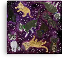Space Kittens Canvas Print