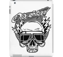 Old Skool Skull Design iPad Case/Skin