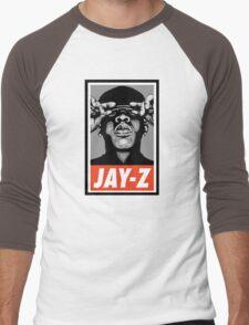 (MUSIC) Jay-Z Men's Baseball ¾ T-Shirt